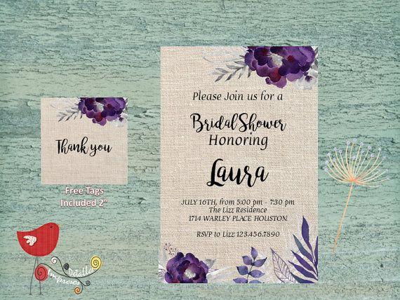 Bridal Shower Printable Por Detallesimpresosco