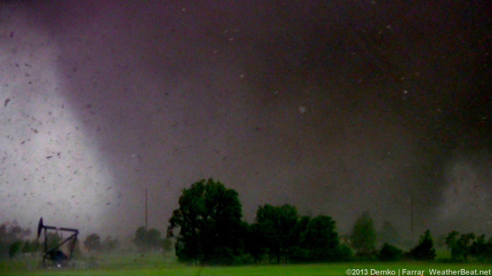 Horrific EF5 tornado in Moore, Oklahoma May 20, 2013
