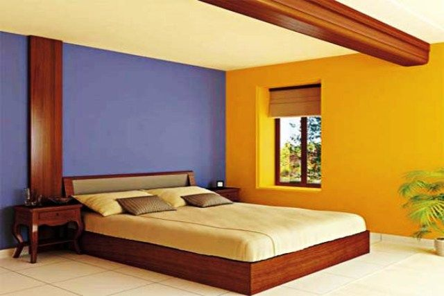 bold wall colour - Google Search | Metheral Home | Pinterest | Wall ...