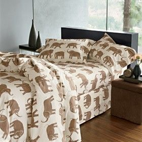 Elephant Percale Bedding review at Kaboodle