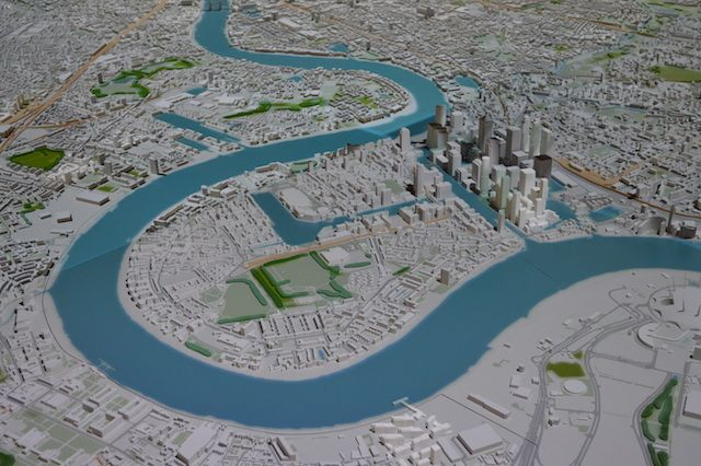 The new, expanded scale model of London at New London Architecture has been unveiled, complete with exciting interactive elements.