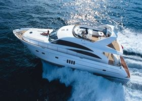 Princess 67 Yacht Charter, 3 Cabins, 6 Berths. Available for Charter in Croatia.