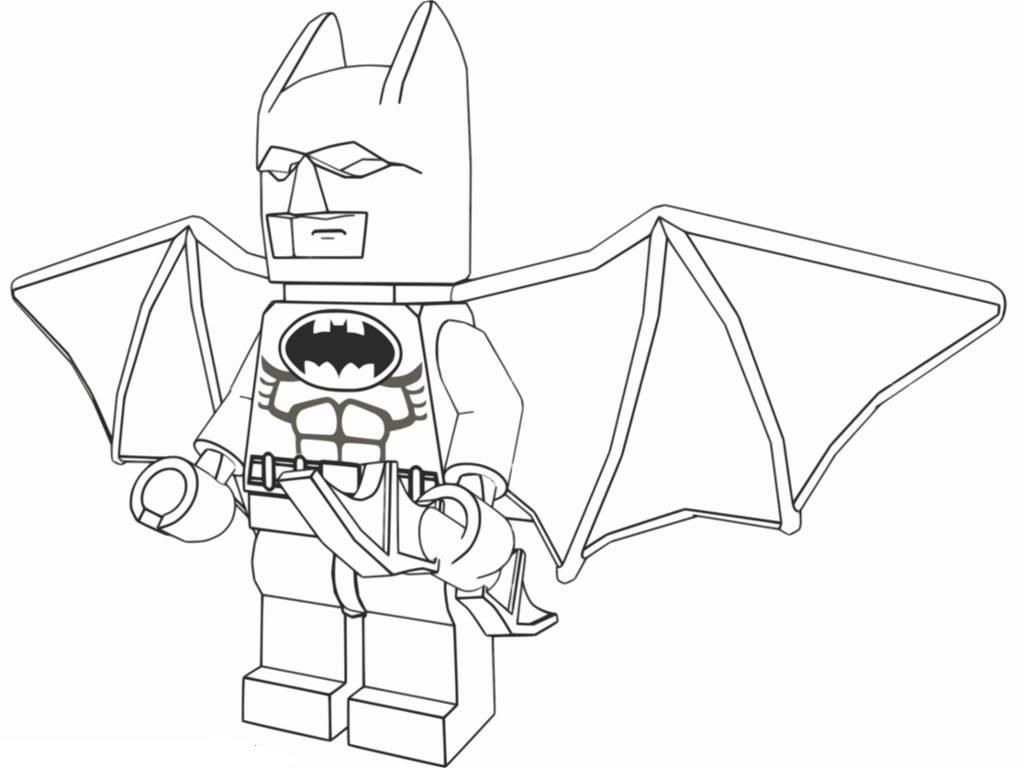 Download and Print Lego Batman Coloring Pages Educational