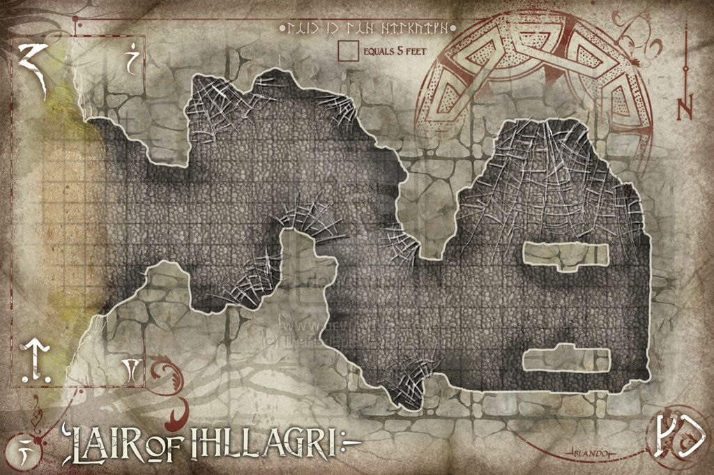 Lair of Illigari by TheRedEpic on deviantART | Fantasy Art | Fantasy