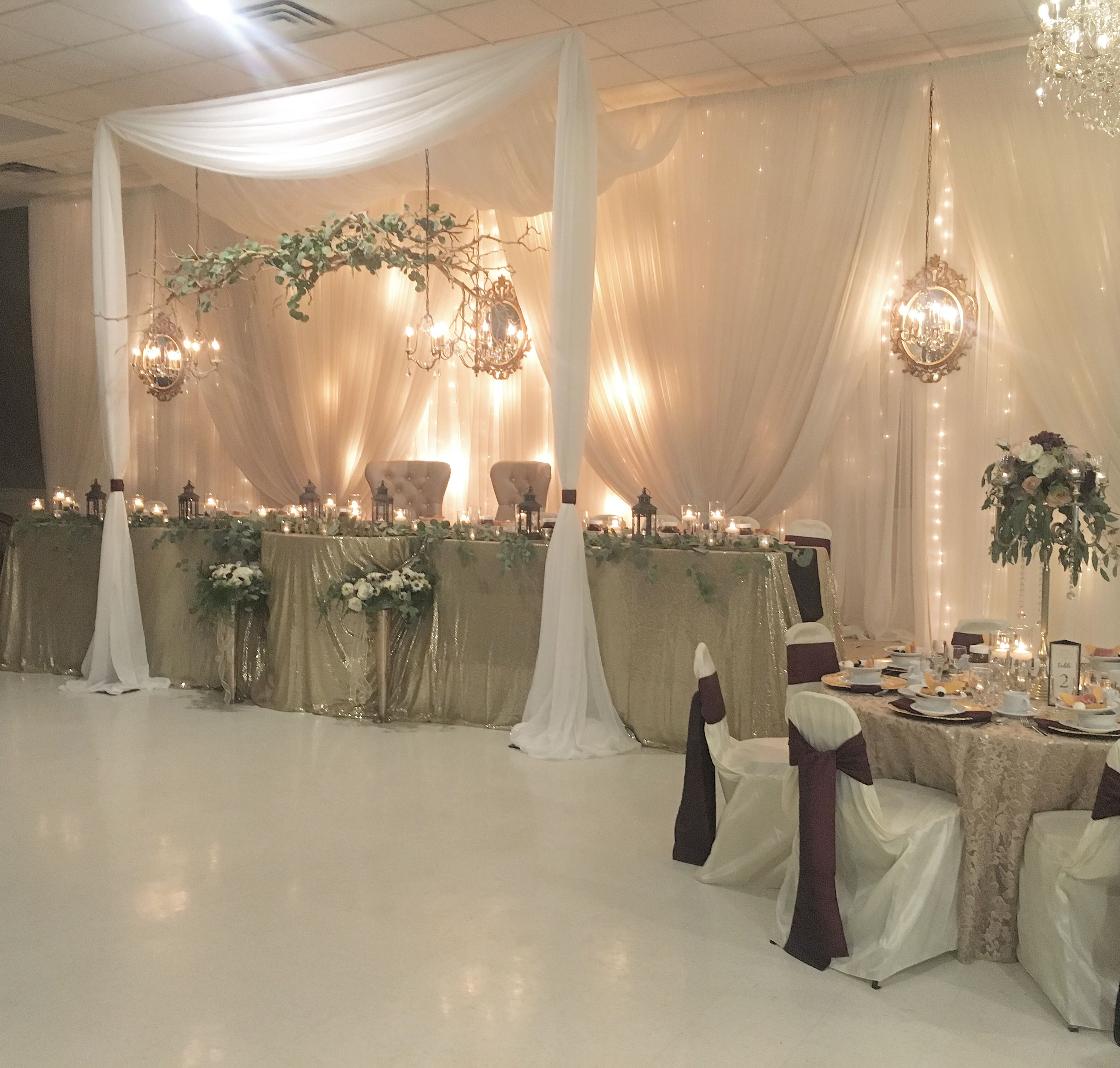 Wedding Reception Head Table Ideas: Pin By The Occasion On Head Tables In 2019