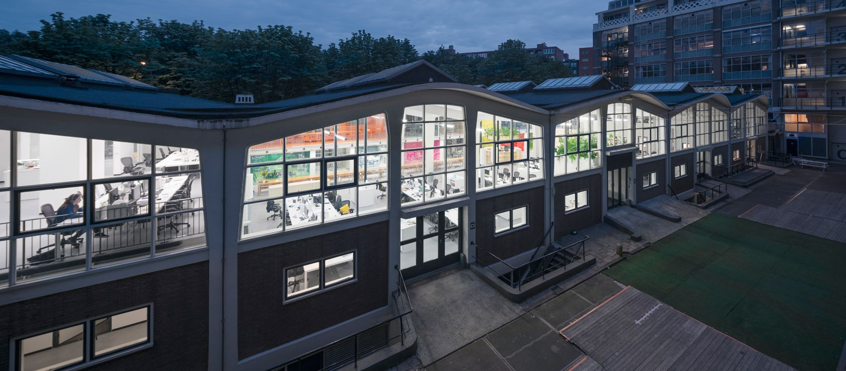 Inside mvrdvus vibrant new office space in rotterdam architecture