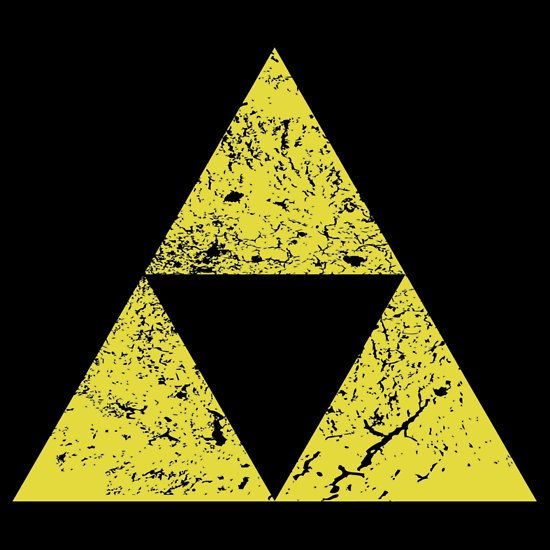 Distressed Triforce