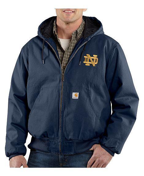 ed1b6c827 Carhartt University of Notre Dame Fighting Irish Sandstone Active ...