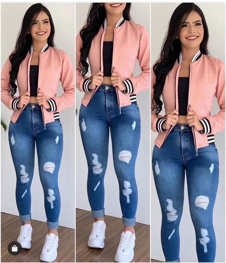 Pin De Blankiz En Looks Mode En 2020 Pantalones De Moda Mujer Ropa Juvenil Femenina Moda Ropa De Moda