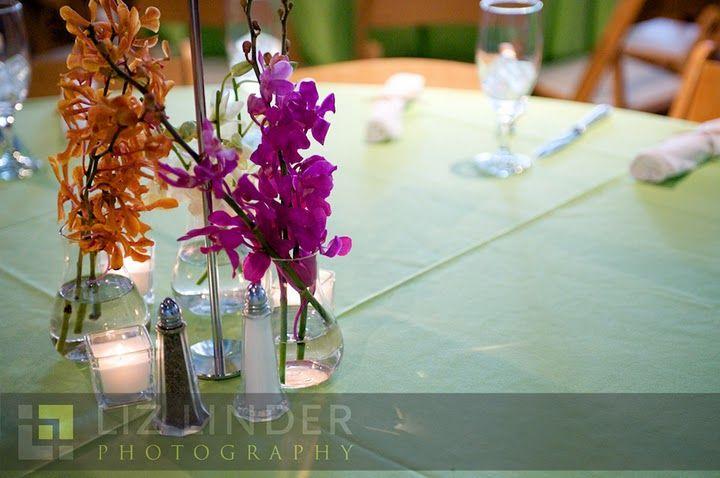 Caribbean Wedding Favor Ideas: Caribbean Or Tropical Theme Centerpiece, Very Simple, Easy