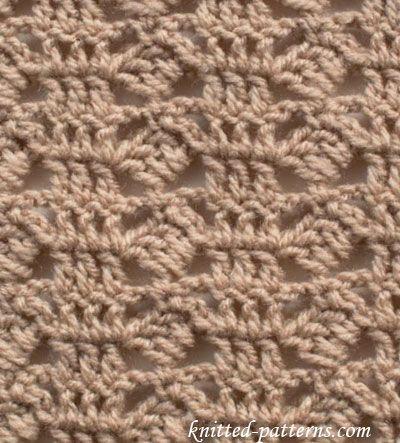 Tipped Blocks Stitch Crochet Knitting Pinterest Stitch