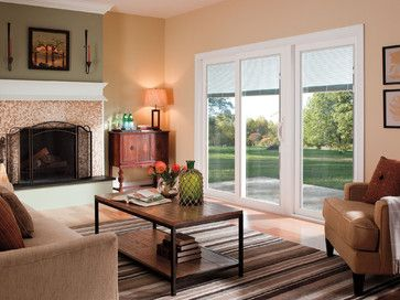 Charmant Pella® 350 Series Sliding Patio Doors   Traditional   Living Room   Pella  Windows And Doors