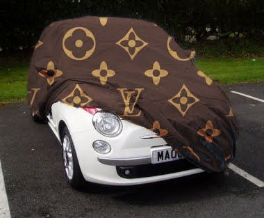 Louis Vuitton Fiat Car Cover  Louis Vuitton Monogram Madness