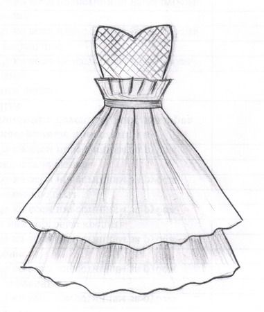 Pin By Isskustvo On Risunki Dress Design Drawing Fashion Design