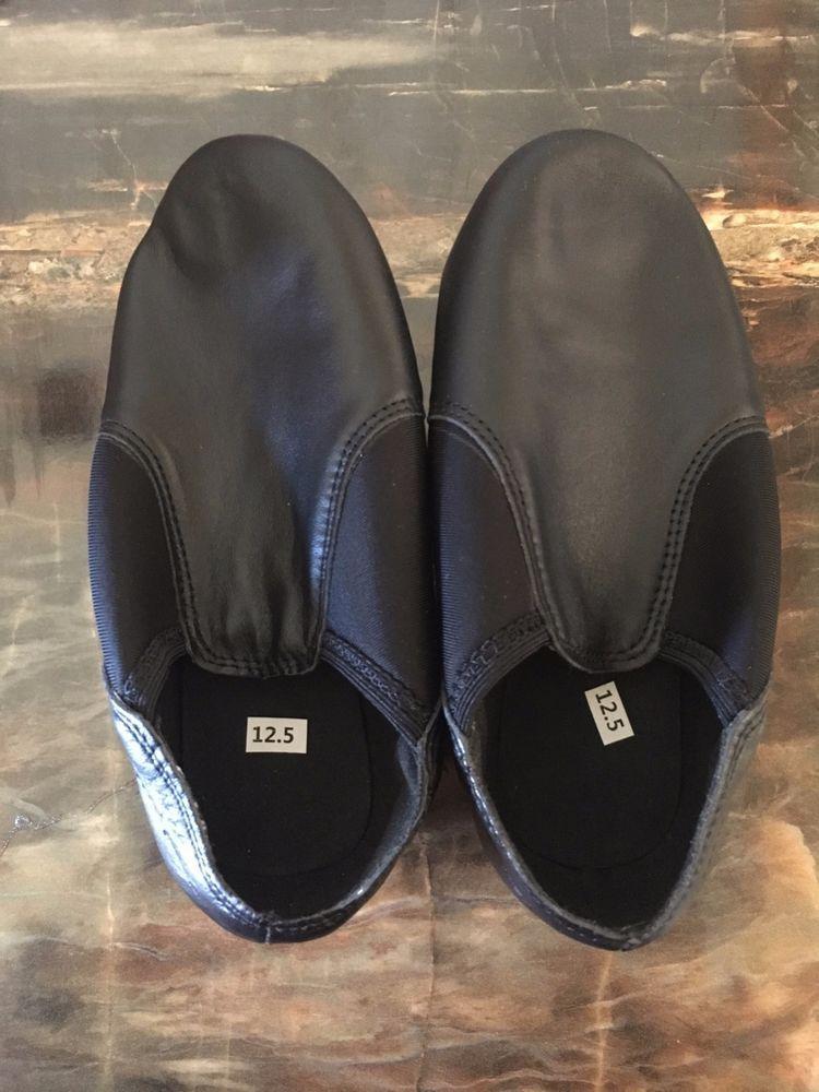 Linodes Leather Jazz Shoe Slip On for Girls and Boys Toddler//Little Kid//Big Kid