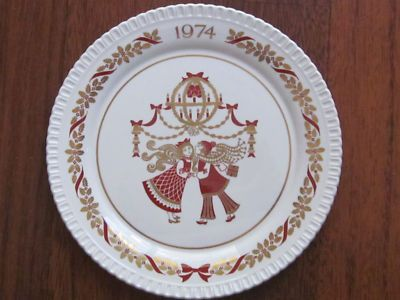 Spode Christmas Plate 1974 Fifth Plate Limited Product & Spode Christmas Plate 1974 Fifth Plate Limited Product | Vintage ...
