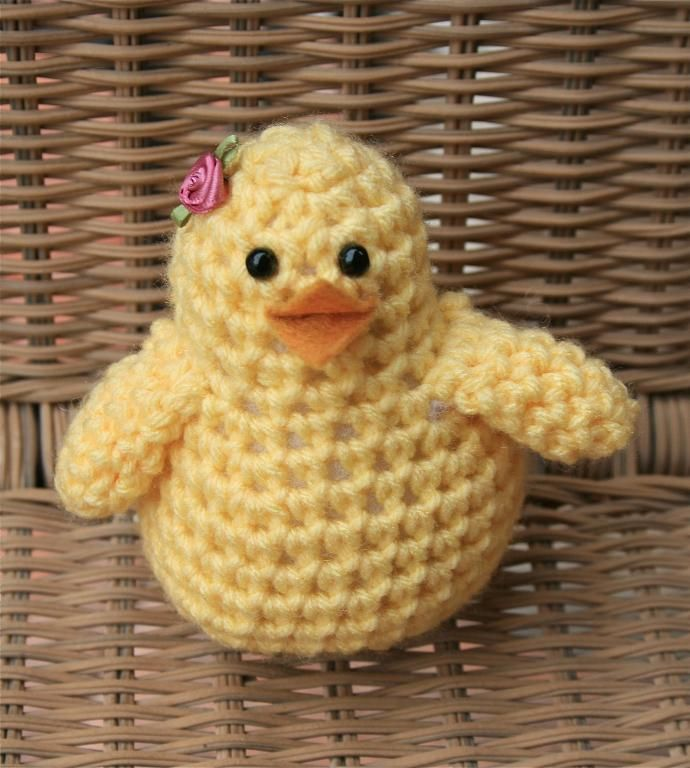 Free Pattern Easter Chick