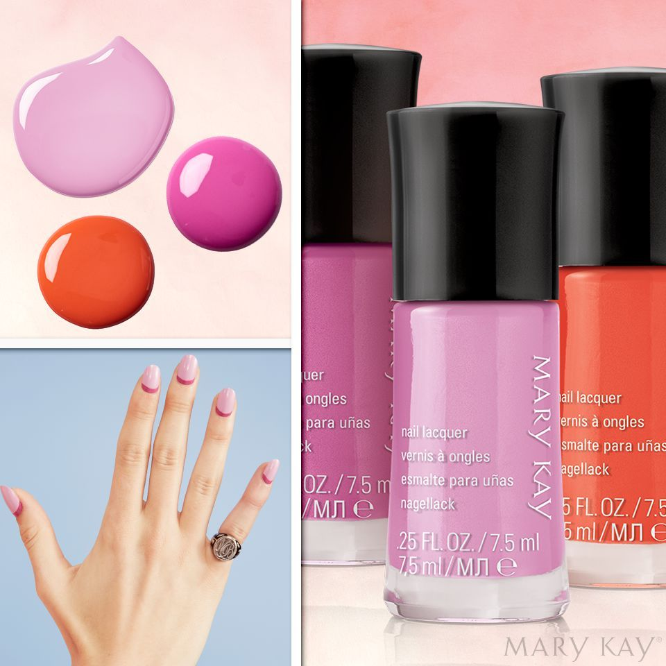 The Mix And Match Nail Colors Of The Limited Edition Light Reinvented Collection Available While Supplies Last Ar Mary Kay Cosmetics Mary Kay Mary Kay Party