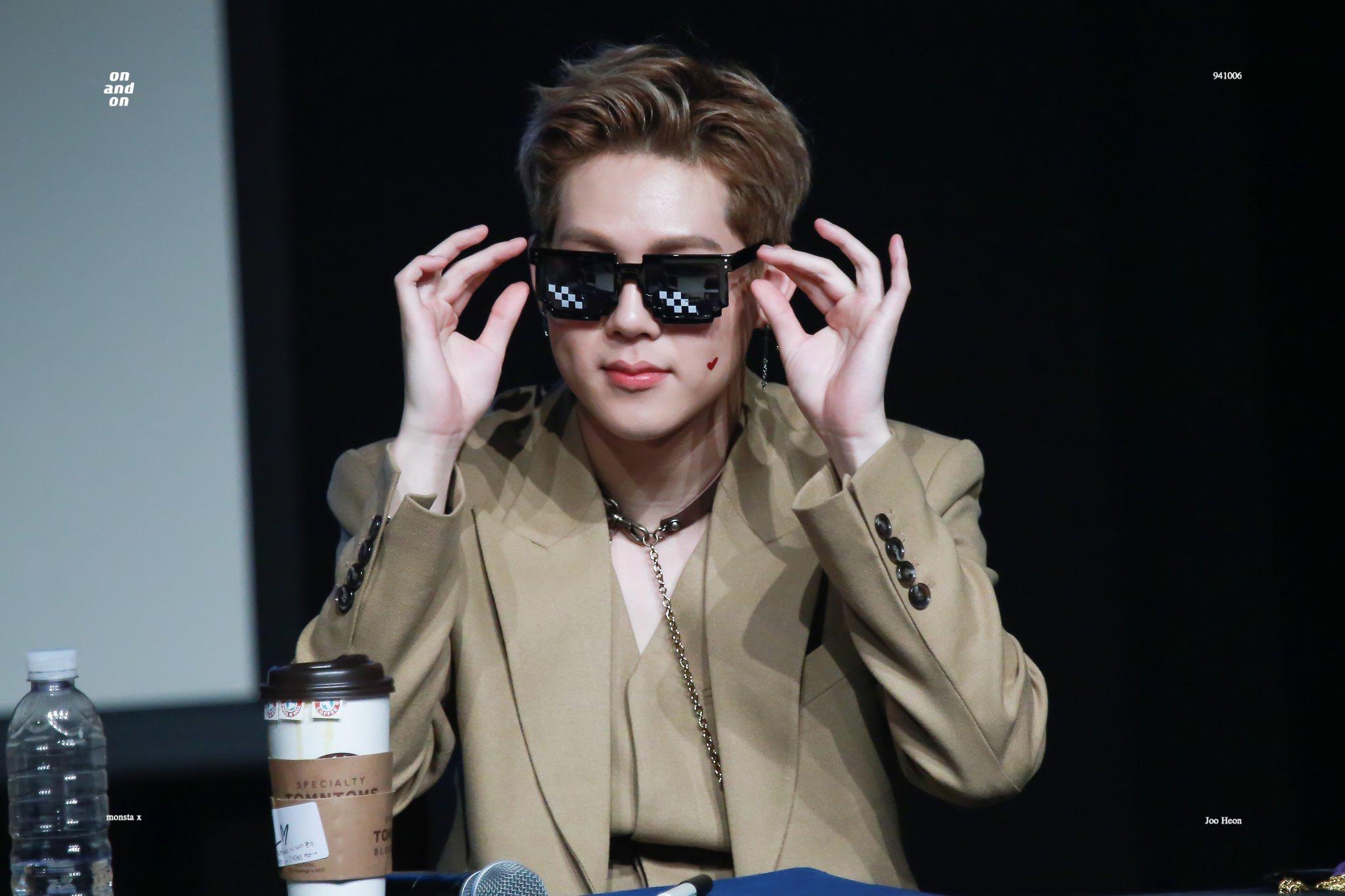 Jooheon Jooheon Monsta X Sunglasses