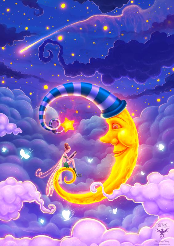 картинки полумесяца сказочные одноразовые подгузники