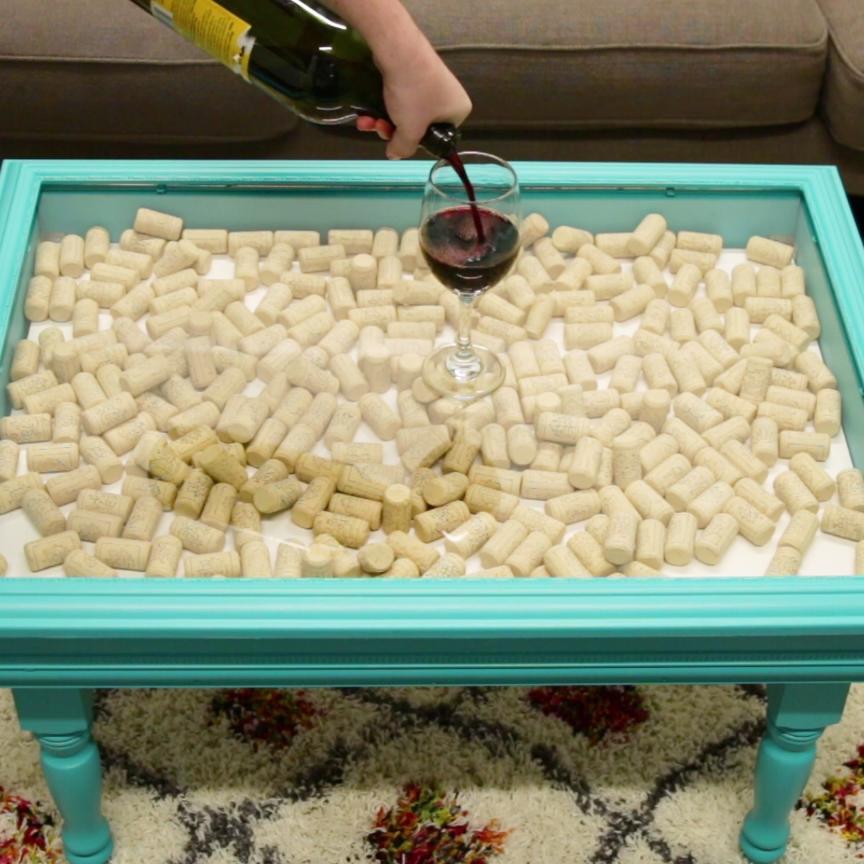Photo of DIY Shadowbox Table