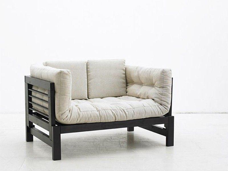 Sofá-cama blanco multifunción
