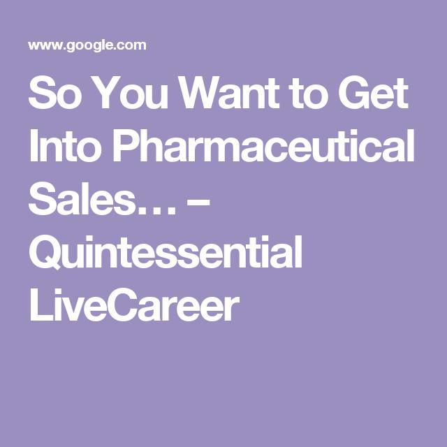 pharmaceutical sales careers