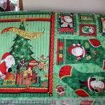 Here Comes Santa Fabric