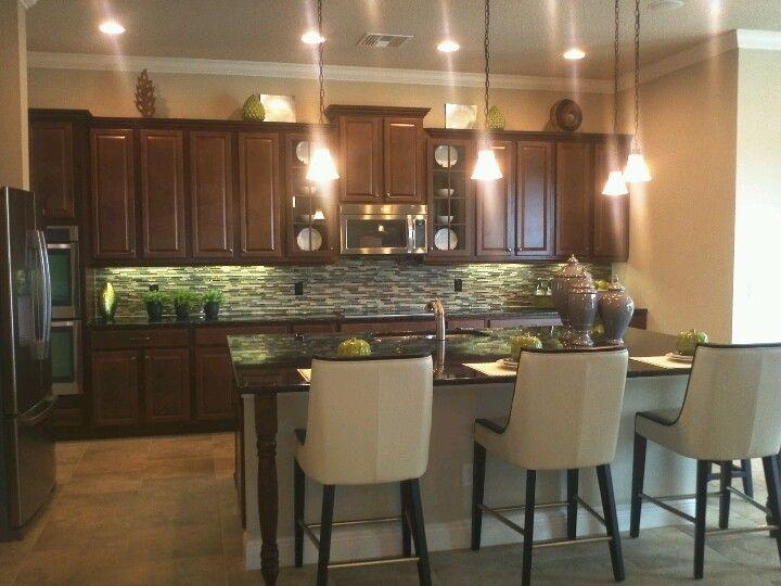 Kitchen Dark Cabinets Backsplash Dark Countertops Home Design