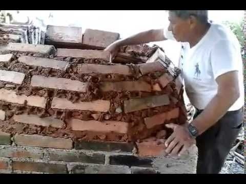 Wood fired pizza oven construction how we built our pompeii dome pizza oven 2015 youtube - Como hacer una cocina de lena ...