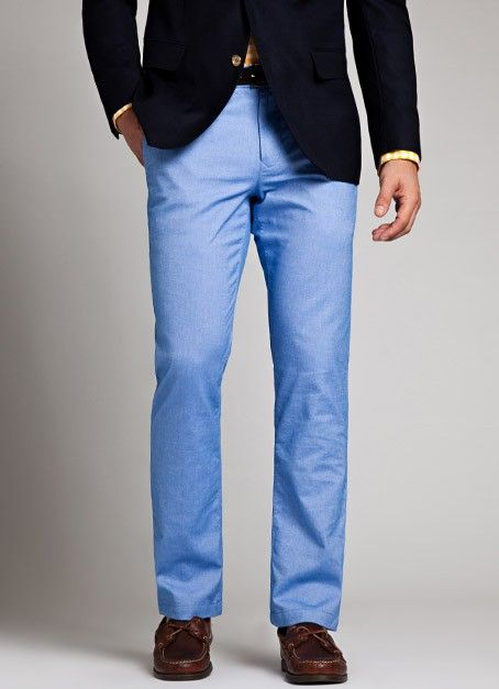men light blue pants - Pi Pants