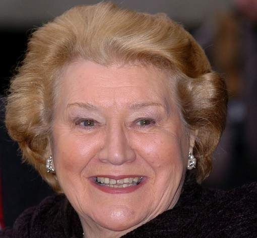 Patricia Rutledge- She has a sense of humor like no other....we love you Hyacinth!!