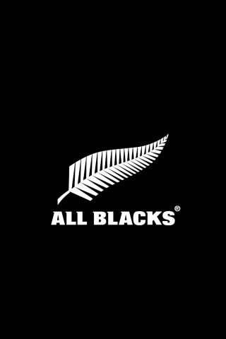All Blacks Logo Android Wallpapers Hd ラグビーニュージーランド代表 オールブラックス ロゴ
