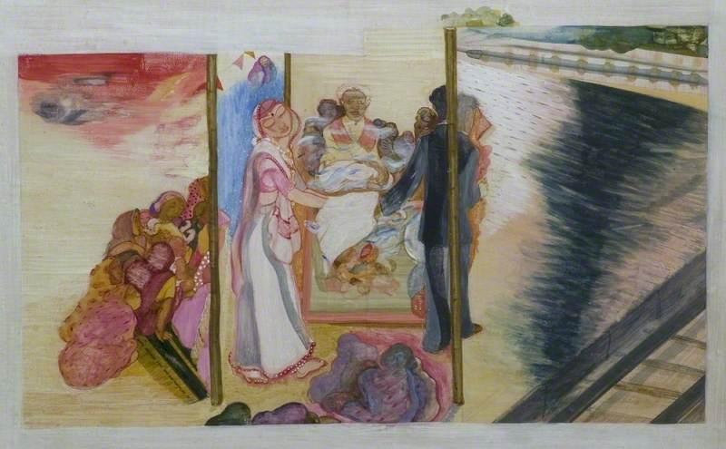 Nilima Sheikh's dark tale of an arranged marriage Art UK