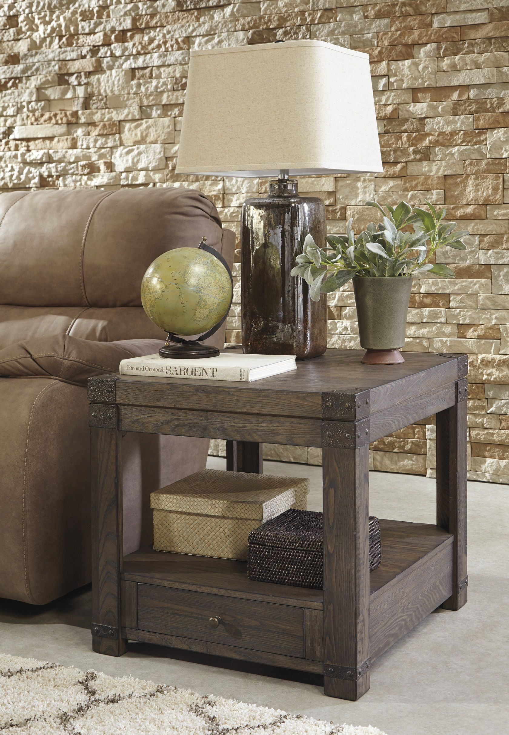 Burladen T846 3 By Ashley End Table