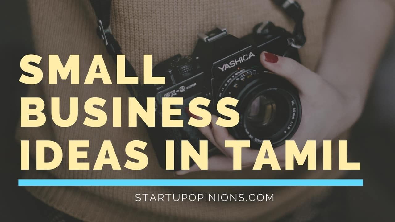Top small business ideas in Tamil, start off your own business in