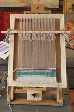 Untangling Threads U2014 How To Make A Simple Homemade Frame Loom #diy  #homemade_frame_loom