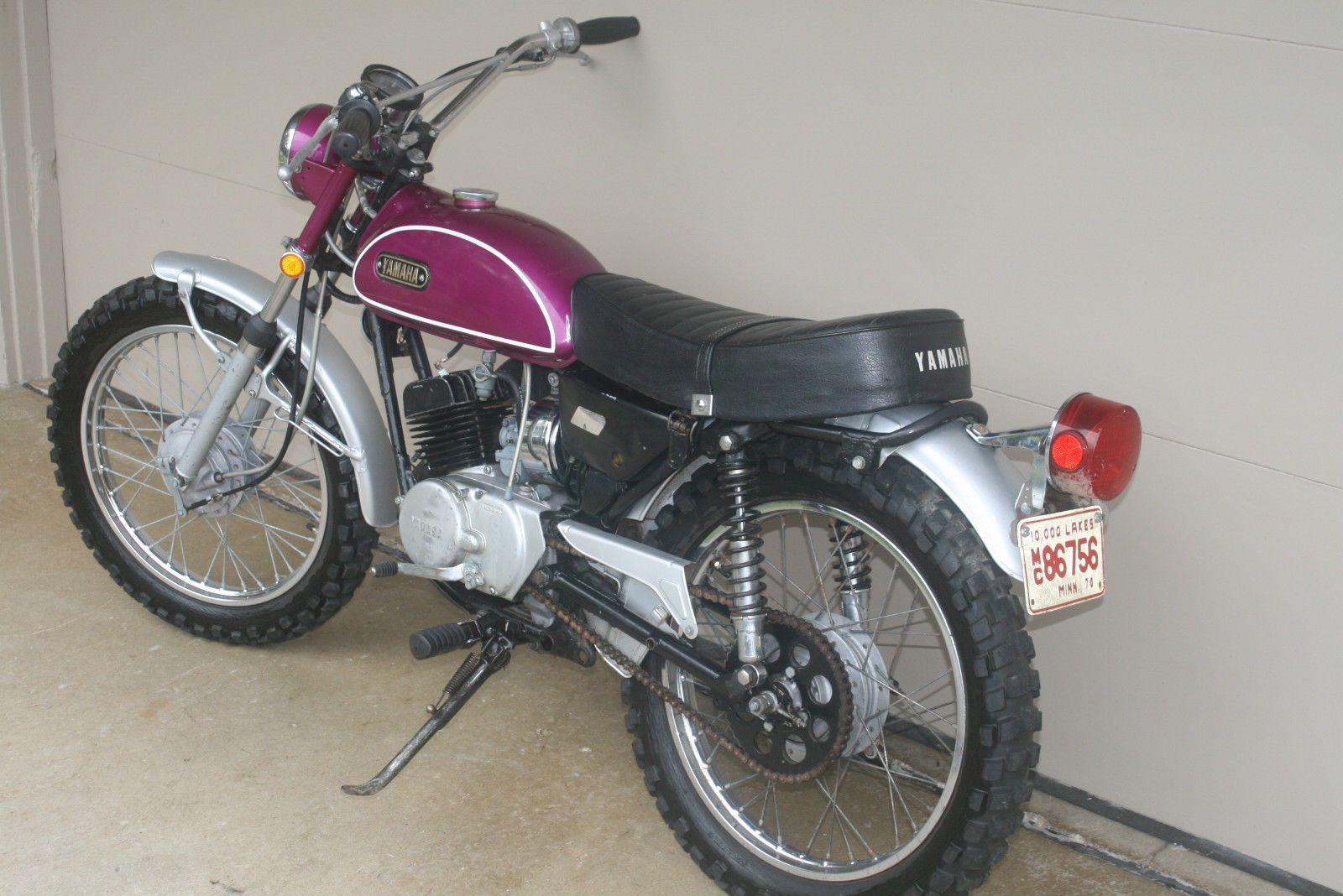 1970 Yamaha Ht1 Enduro 90 Original Vintage Time Capsule Classic Ahrma Yamaha Bikes Yamaha Vintage Bikes