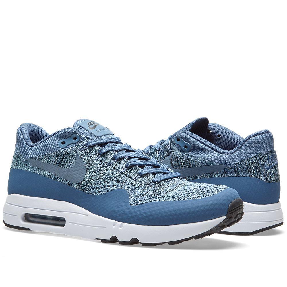 1ab74db230c07 Nike Air Max 1 Ultra 2.0 Flyknit (Ocean Fog   Mica Blue)