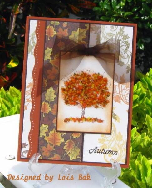 Autumn is Around the Corner by Clownmom - Cards and Paper Crafts at Splitcoaststampers