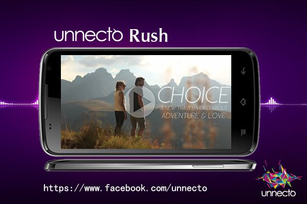 Make your travel a trick & fun when you watch your favorite videos on the bigger 5 inch capacitive display of Unnecto Rush.