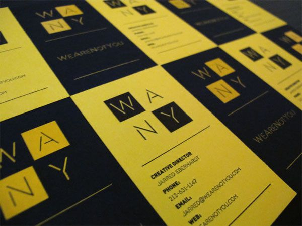 Business Card by WeAreNotYou