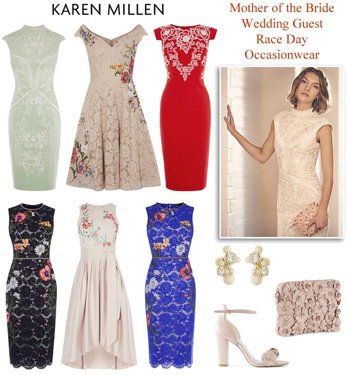 Karen Millen Occasionwear Summer Wedding Outfits Race Day Dresses ...