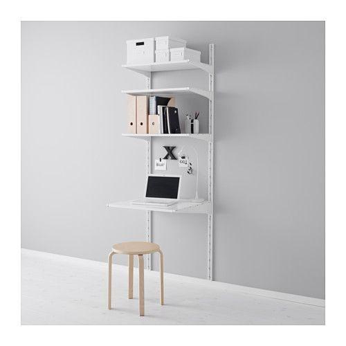ALGOT Vægstolpe/hylder, hvid | indretning | Pinterest