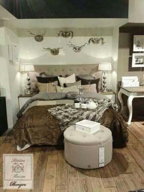 Droom slaapkamer | Riviera maison | Pinterest