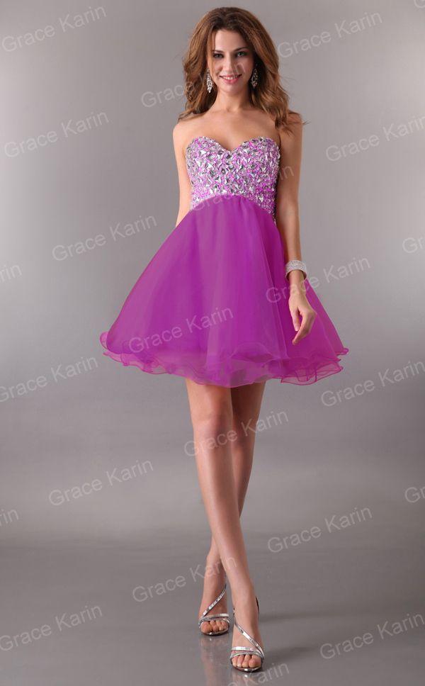 Dorable Vestidos Cortos Prom Girl Ideas Ornamento Elaboración ...