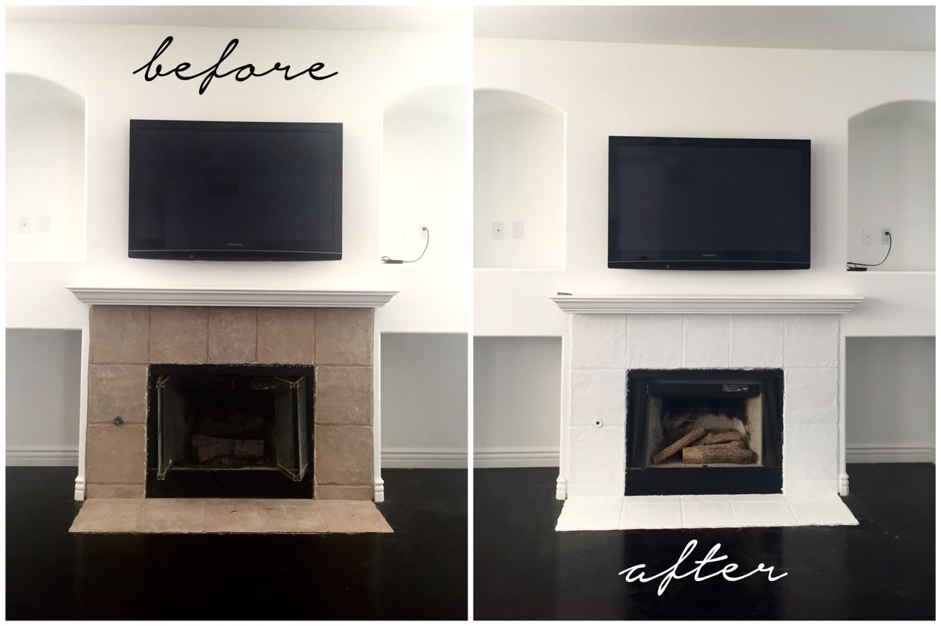 I Removed The Fireplace Glass Since The Left Side Is