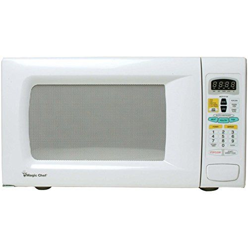 Magic Chef Mcd1311w Countertop Microwave 13 Cuft 1100w White