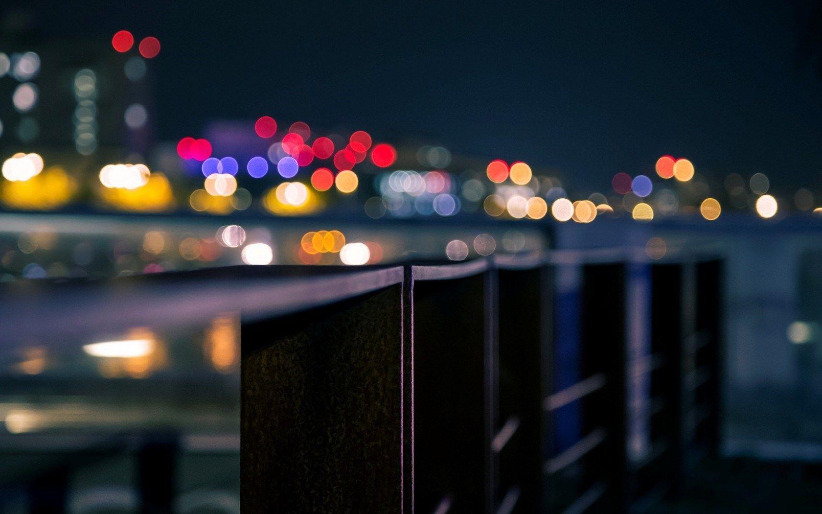 Macro City Lights Hd Wallpaper Freehdwalls City Wallpaper Wallpaper Pictures Pc Backgrounds Hd