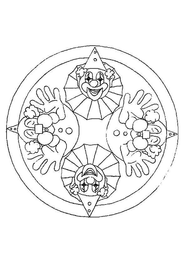 Kleurplaten Carnaval Mandala.Mandala Kleurplaten Carnaval Mandalas Mandalas Para Colorear En